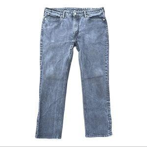 LEVI's 511 black gusset commuter jeans 38x30